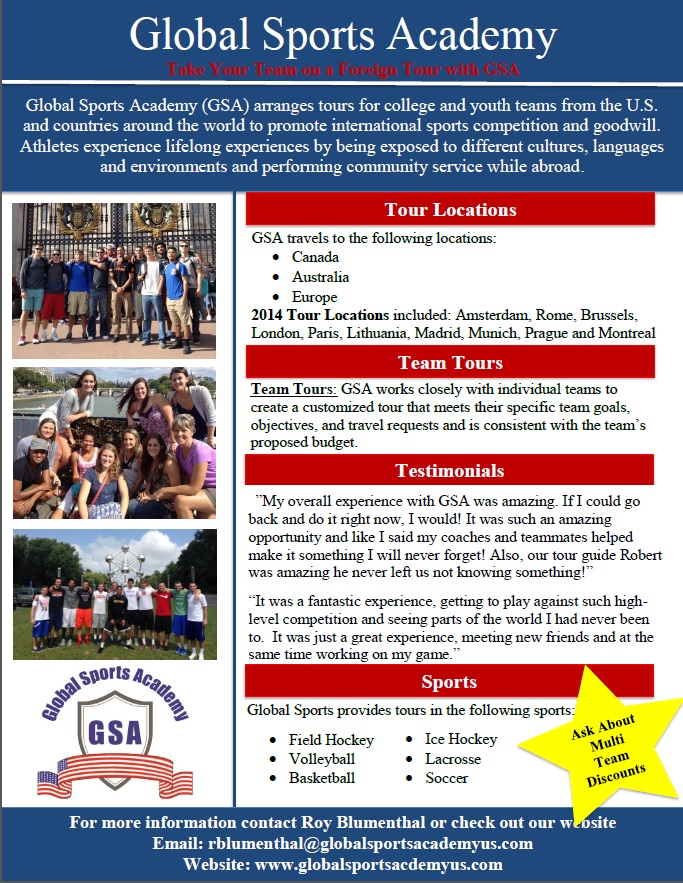 marketing proposal for sports academy Regional marketing specialist - tennessee academy sports + outdoors   licensing department creates and executes strategic marketing plans for each  sport,.